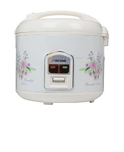 A 10-Cup Rice Cooker for just $25: Tatung TRC-10DC Direct Heat 10-Cup Electric Rice Cooker $24.99 with free shipping *UPDATE 2/19: Back In Stock*