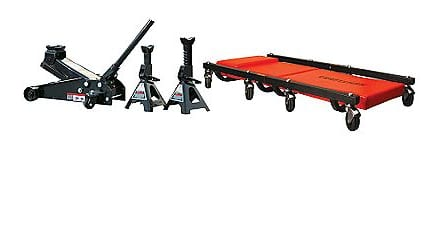 Craftsman 3 Ton Floor Jack, Jack Stands and Creeper Set 50% Off + $10 Back in Points: $79.99 AC (reg. $159.99) + Free Shipping ~ Sears