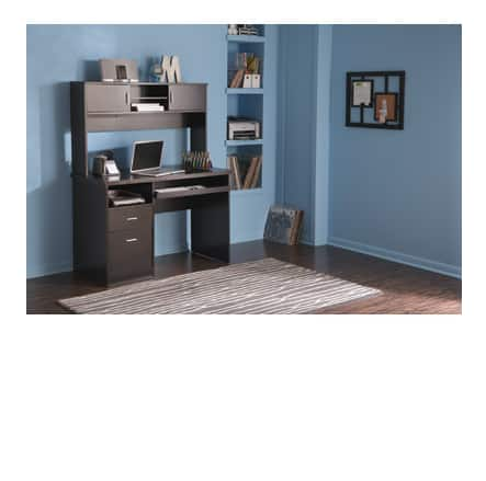 OfficeMax - Espresso Desk with Hutch $64.99 FS