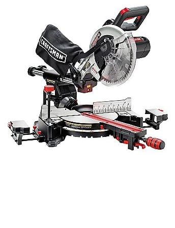 Craftsman 10'' Single Bevel Sliding Compound Miter Saw $156 + Free Shipping