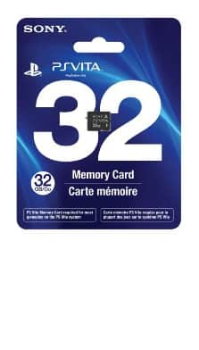 PlayStation Vita Memory Cards: 32GB $50, 16GB $30 + Free Shipping