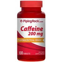 Piping Rock Health Products Deal: 100-count Piping Rock Caffeine 200mg Tablets