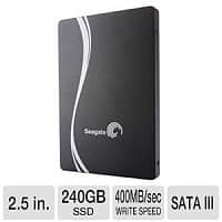 "TigerDirect Deal: 240GB Seagate 600 Series 2.5"" SATA III Solid State Drive (SSD) $109.99 with free shipping"
