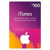 Best Buy Deal: $100 Apple iTunes Gift Card