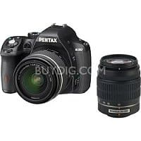 BuyDig Deal: Pentax K-50 Digital SLR Camera w/ 18-55mm and 50-200mm Lenses + AF-200FG Flash $594.95 with free shipping