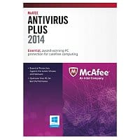 Dell Home & Office Deal: McAfee Antivirus Plus 2014 (3 PCs) + $25 Dell eGift Card