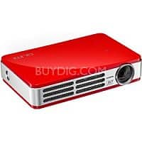 BuyDig Deal: Vivitek Qumi Q5 500 Lumens 720p 3D-Ready DLP Projector in Red (Refurbished) $289 with free shipping