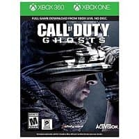 Rakuten Deal: Video Games: Call of Duty Ghosts Combo (Xbox 360 and Xbox One) $12 or Tiger Woods PGA Tour 14 (Xbox 360) $12 with free shipping (New Customers Only)