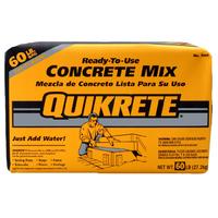 Home Depot Deal: 60lb Bag of Quikrete Mix