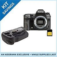 Adorama Deal: Pentax K3 Digital SLR Camera (Body Only) + Pentax D-BG5 Battery Grip + 32GB Kodak Class 10 SDHC Card + 4% Back in Rewards $996.95 with free shipping