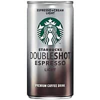 Amazon Deal: 12-pack 6.5oz Starbucks Doubleshot Espresso + Cream (Light)