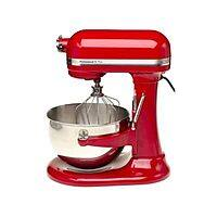 eBay Deal: 5-Quart KitchenAid Professional 5 Plus Bowl-Lift Stand Mixer (Red) $199.99 with free shipping