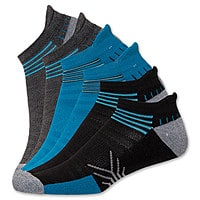Finish Line Deal: 6-Pairs of Select Men's or Women's Finish Line Performance Socks