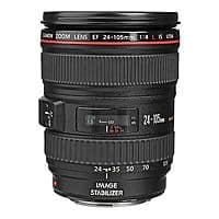 eBay Deal: Canon EF 24-105mm f/4L IS USM Lens (Refurbished) $599.99 with free shipping *Lowest Price*