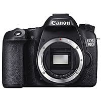 Canon Deal: Canon EOS 70D DSLR (Refurbished) w/ 18-55mm $750, w/ 18-135mm $800, Body Only