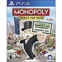 Amazon Deal: Monopoly Family Fun Pack (Xbox One or PS4)