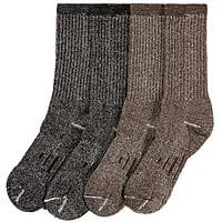 Costco Wholesale Deal: 4-Pairs of Men's or Women's Kirkland Signature Merino Wool Trail Socks