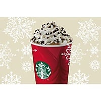 Starbucks Stores Deal: Any Size Starbucks Peppermint Mocha (Hot, Iced or Frappuccino)