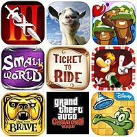 Apple iTunes & Google Play Deal: iPhone, iPad, & Android Apps/Games: Ticket to Ride $3, Infinity Blade III