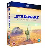 Amazon (UK) Deal: Star Wars: The Complete Saga (Region Free Blu-ray)