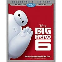 Walmart Deal: Disney's Big Hero 6 Pre-Order (Blu-ray/DVD + Digital HD)