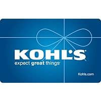 eBay Deal: Free $5 Kohl's eGift Card w/ $50 Kohl's Gift Card Purchase $50 with free shipping