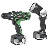 Rakuten (Buy.com) Deal: Hitachi DS14DSFL 14.4V Lithium-Ion 1.5-Amp Cordless Drill/Driver Kit + $3 Rakuten Cash $60 with free shipping
