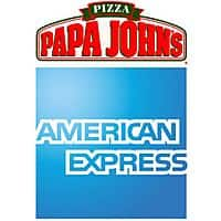 American Express Deal: American Express Statement Credit w/ $25+ Purchase at Papa John's