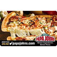 eBay Deal: $25 Papa John's Gift Card (Digital Delivery)