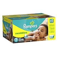 Amazon Deal: Select Box of Pampers Diapers (Sizes 3-4) + $10 Amazon Gift Card