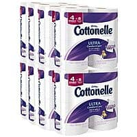 Amazon Deal: 32-Pack Cottonelle Ultra Comfort Care Double Roll Toilet Paper