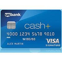 $  100 Cash Back with US Bank Cash+ Visa Signature Credit Card Approval w/ $  500 Spent in First 3 Months