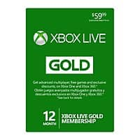 eBay Deal: 12-Month Microsoft Xbox Live Gold Membership Card  $35.99 with free shipping