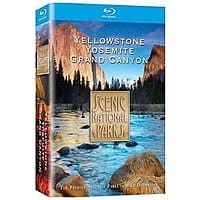 Amazon Deal: Scenic National Parks: Complete Collection (3-Disc Blu-ray)  $12.99 with free shipping