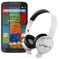 Motorola Store Deal: Moto X (2014) Smartphone + Tracks Air Wireless Headphones