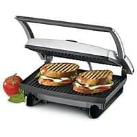 BuyDig Deal: Cuisinart Sale (Refurb): Griddler Panini Press w/ 8-Pk Cuisinart Cloths