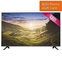 "Dell Home & Office Deal: 55"" LG 55LF6000 1080p LED HDTV (2015 Model) + $150 Dell eGift Card  $649.99 with free shipping"