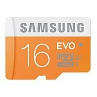 Amazon Deal: Samsung EVO Class 10 microSD Card: 64GB $24, 32GB $14, 16GB