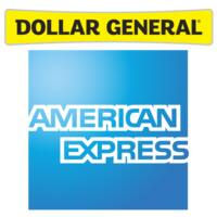 American Express Deal: American Express Credit w/ $25 Purchase at Dollar General