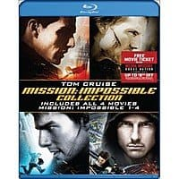 Best Buy Deal: Mission: Impossible Quadrilogy (Blu-ray) + Movie Money