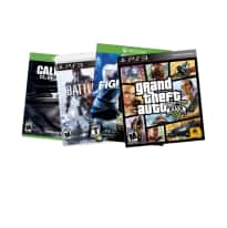 Buy 2 Get 1 Free on Select Video Games: Call of Duty: Ghosts or Battlefield 4 (Xbox One, Xbox 360, or PS3) $60, Fighter Within $60, Grand Theft Auto V (PS3)  $58 & More + Free Ship