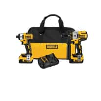 DEWALT DCK296M2 20V XR Lithium Ion Brushless Premium Hammerdrill and Impact Driver Combo Kit w/ 2 - 4.0Ah Batteries - $234 AC & More + FS @ Acmetools