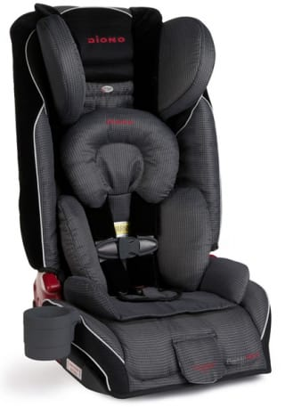 Diono Radian RXT Convertible Booster Car Seat (various colors), $195 + tax + free shipping