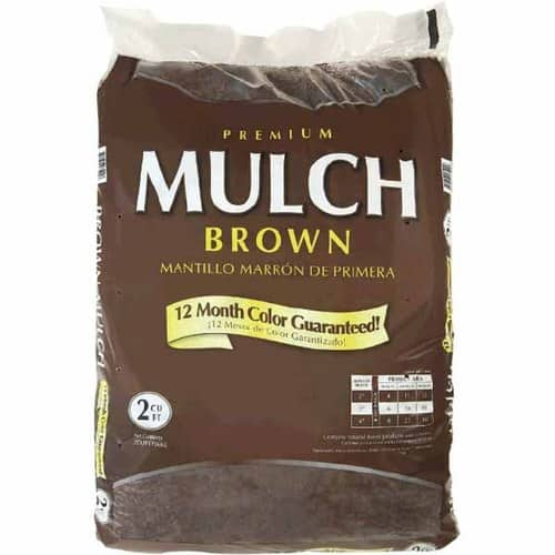 2 cu. ft. Premium Hardwood Mulch (Brown, Red or Black)  $1.80 + Free Store Pickup
