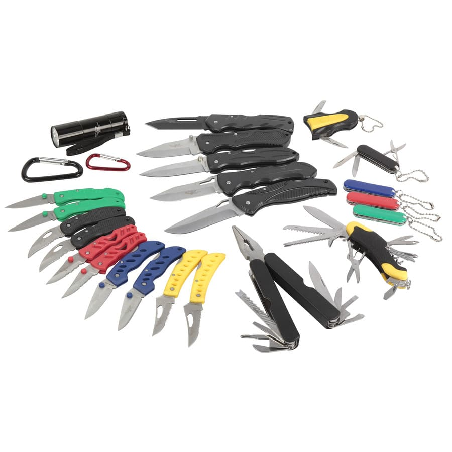 Appalachian Trail 2-1/4-in Stainless Steel Folded Pocket Knives set... another Lowes.com YMMV $12.98 less than $1 per knife