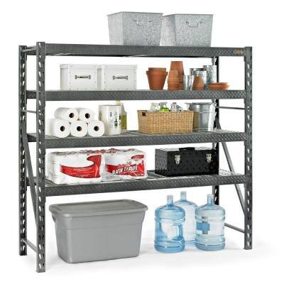 4-Shelf Gladiator Steel Shelving Unit  $139 + Free Ship-to-Store