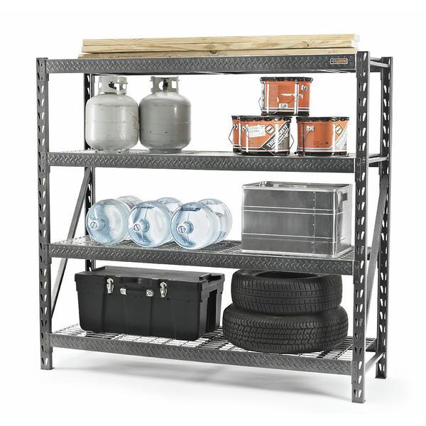 "Gladiator 77"" 4-shelf Rack at Sears $140 or less"