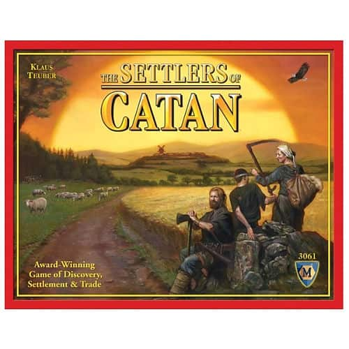 Settlers of Catan 30.01 or 28.51 w/REDcard