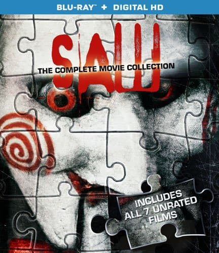 Saw: The Complete Movie Collection Pre-Order (Blu-ray)  $17.50