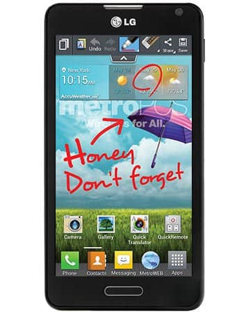 LG Optimus F6 MetroPCS $69 + tax online without activation !!!